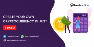 Create Your Own Cryptocurrency In Just 4 Days!
