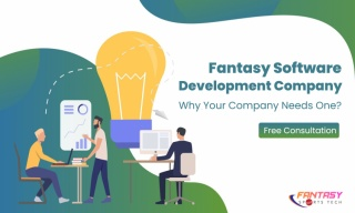 Fantasy Sports Tech - Fantasy Sports App Development Company